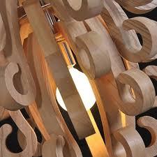 wood flush mount ceiling light novelty wooden scrolls designer semi flush mount ceiling lights