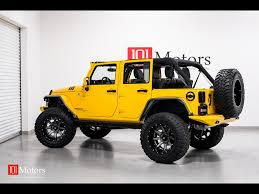 yellow jeep 2015 jeep wrangler unlimited sport for sale in tempe az stock