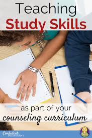 Counseling Skills For Teachers Teaching Study Skills As Part Of Your Counseling Curriculum