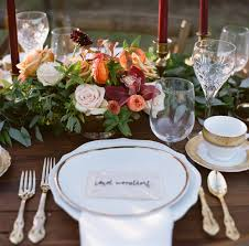 imtimate thanksgiving wedding maidenhair