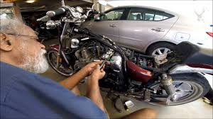 servicing the yamaha xj 700 maximx youtube
