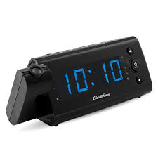 Clock That Shines Time On Ceiling by Usb Charging Alarm Clock Radio Electrohome