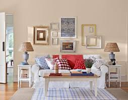 Room Makeover American Country Room Design - American living room design