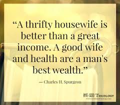 Good Housewife Guide A Thrifty Housewife Find More Encouragement At Byte Sized