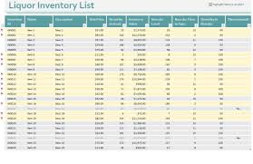 It Inventory Spreadsheet Liquor Inventory Sheet Excel Wolfskinmall