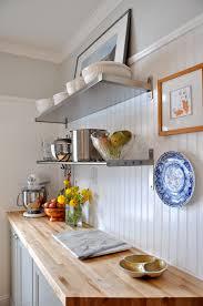 butcher block backsplash diy butcher block countertops pictures kitchen with beadboard backsplash and butcher block counters it