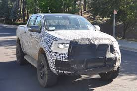 2019 ford ranger spy shots and video spied 2019 ford ranger and 2020 ford bronco mule