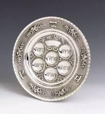 hanukkah plates hanukkah silver menorah by grand sterling usa