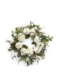 Melrose Home Decor Amazon Com Melrose International Hydrangea Wreath 22 Inch White