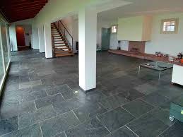 indoor tile floor slate matte floor silver grey artesia