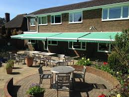 Electric Patio Awning Surrey Blinds U0026 Awnings Repairs And Recovers Conservatory Blinds
