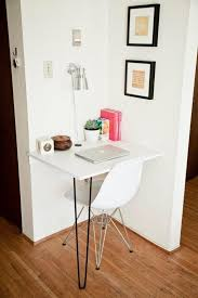 Small Desk Home Office Small Space Home Office Solutions The Everygirl