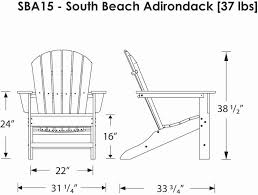 Canvas Deck Chair Plans Pdf by Polywoodfurniture Com U003e Polywood Sba15 South Beach Adirondack Chair