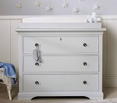 dresser with removable changing table top larkin dresser topper set pottery barn kids