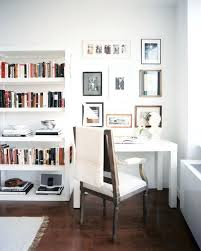corner desk living room ways to create a home office space