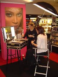 makeup stations and beauty parlour s outlets cantoni for l oreal