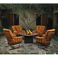 Firepit Chairs Ow Monterra Club Chairs With Pit Table Furniture