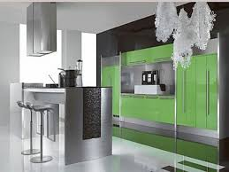 green and orange kitchen deluxe home design