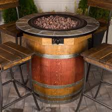 wine barrel fire table wine barrel fire pit table napa east collection wine country