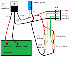 usb charger wiring diagram diagram wiring diagrams for diy car
