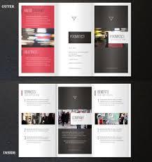 tri fold brochure template sogol co