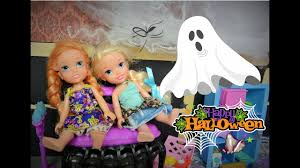 anna and elsa toddlers haunted house 1 see a ghost spooky