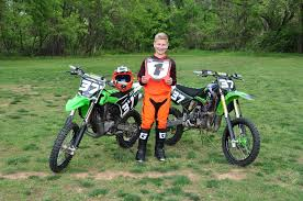 first motocross race thurman hopes to ride with the big boys someday