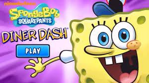 spongebob squarepants diner dash nickelodeon games for kids