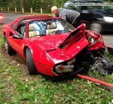 ferrari 328 gts crashed in belgium