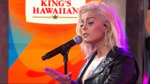 Wildfire Song Mtv by Bebe Rexha Sings U0027in The Name Of Love U0027 In Candid Post U0027gma