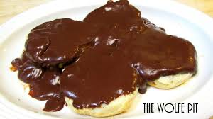 southern chocolate gravy and biscuits good old fashioned
