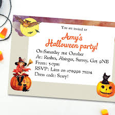 children u0027s halloween party invitations by august u0026 grace