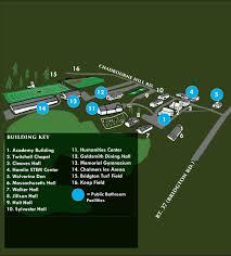 Uri Campus Map The Bridgton Academy Campus Map And Photo Tour U2013 Bridgton Academy
