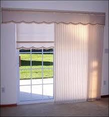 Patio Door Valance Valances For Sliding Glass Doors With Vertical Blinds Curtains For