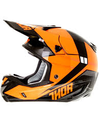 motocross helmet visor thor black fluorescent orange 2016 verge rebound mx helmet thor