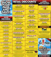 Six Flags Nj Tickets Discount Six Flags Season Pass Coupons Bring A Friends The Park Today