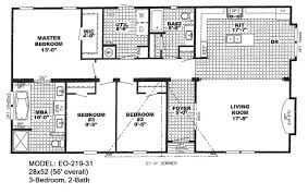 Interior Design For Mobile Homes by Floor Plans For Double Wide Mobile Homes Awesome Floor Plans For