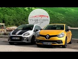 St Vs Abarth 500 Renault Clio Rs Vs Abarth Punto Supersport