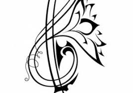 ideas musical tribal tattoo designs tribal tattoos music and