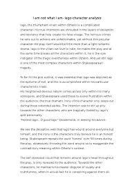 cloud writing paper 3 essay writing tips to iago essay iago essay