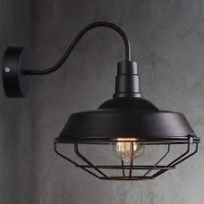 Outdoor Gooseneck Barn Lights Gooseneck Wall Lamp Ebay