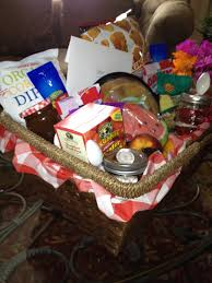 summer picnic themed gift basket my creations pinterest