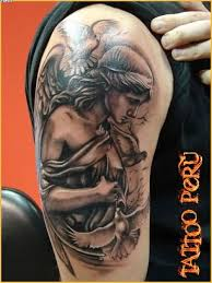 angel arm tattoo design for men tattooshunter com