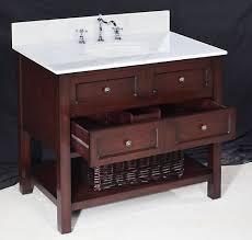 Chic New Yorker Bathroom Vanity - 21 inch wide bathroom vanity