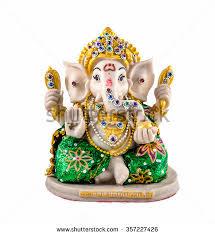 hindu god ganesha garnish ornaments stock photo 357227426