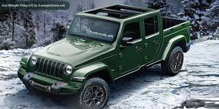 jeep wrangler pickup 2017 now jeep says the wrangler pickup will arrive in late 2019