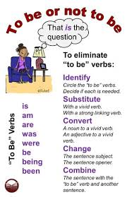 verb pattern prevent how to eliminate to be verbs in writing pennington publishing blog