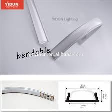 diy led strip light yidun lighting led bendable aluminum channel for diy led strip