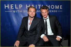 Leonardo Dicaprio Home by Leonardo Dicaprio U0026 Sean Penn Help Haiti Home Photo 2617855