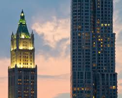 old u0026 new the woolworth building and beekman tower flickr